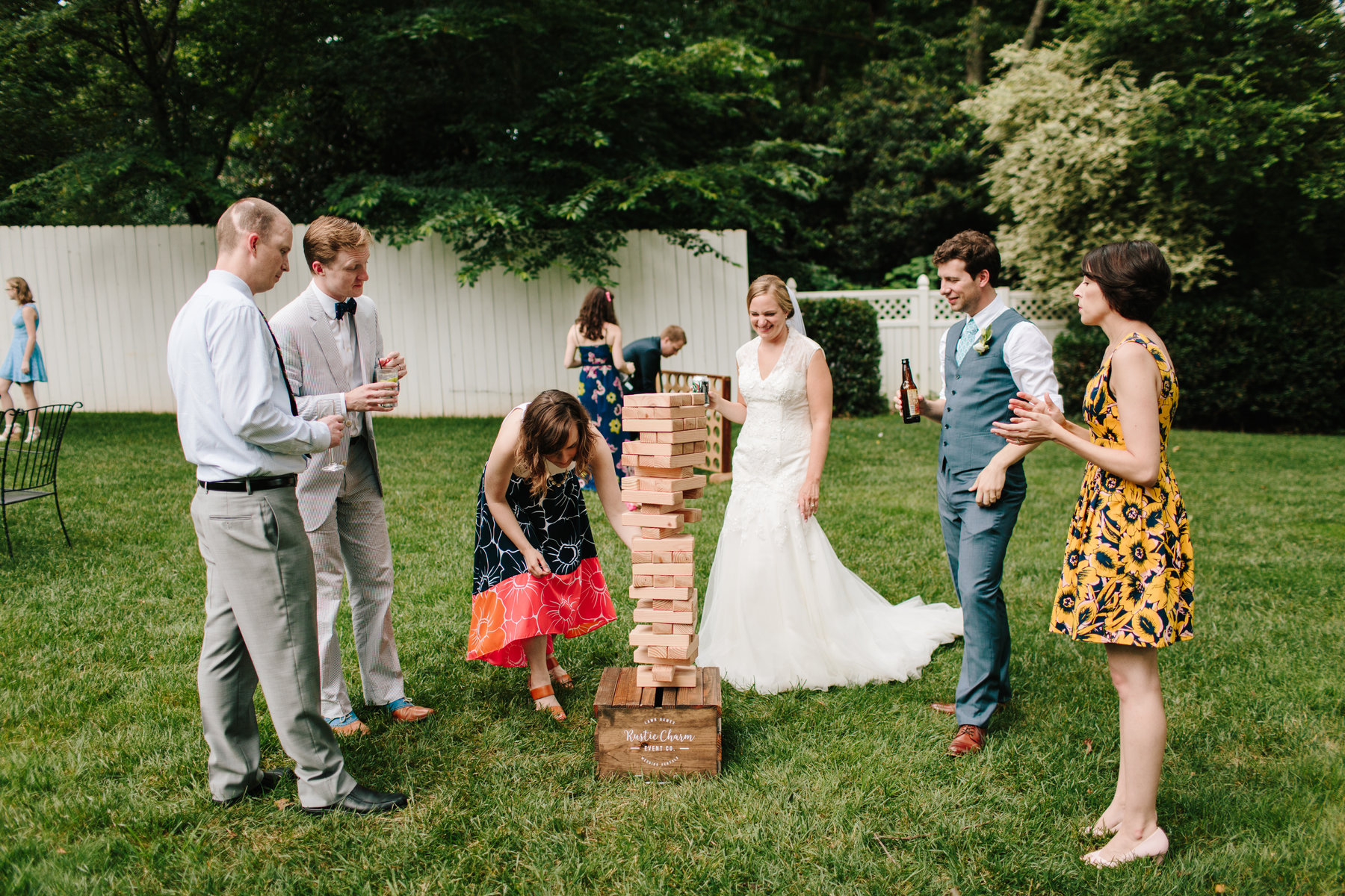 Jenga, flip cups, and the shoe up trivia games are all classics. But, can you think of any more killer wedding games to engage all guests?
