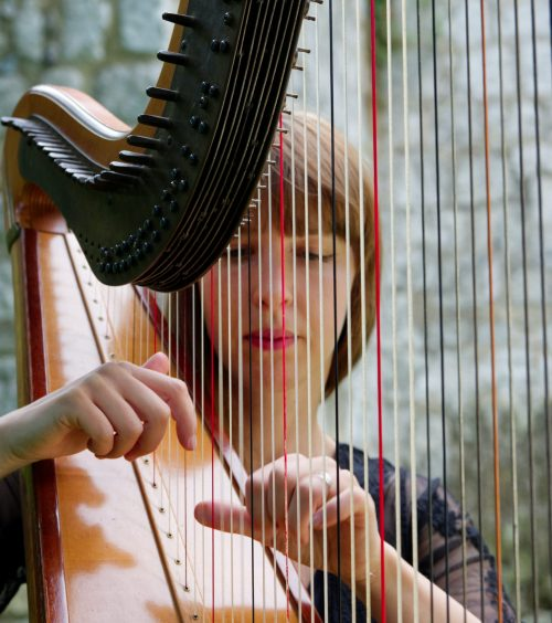 It goes without saying, having a harp placed within a beautifully styled setting of a luxurious wedding will add a dreamy feel to any wedding day