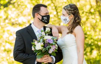David England Photography covid wedding in Utah