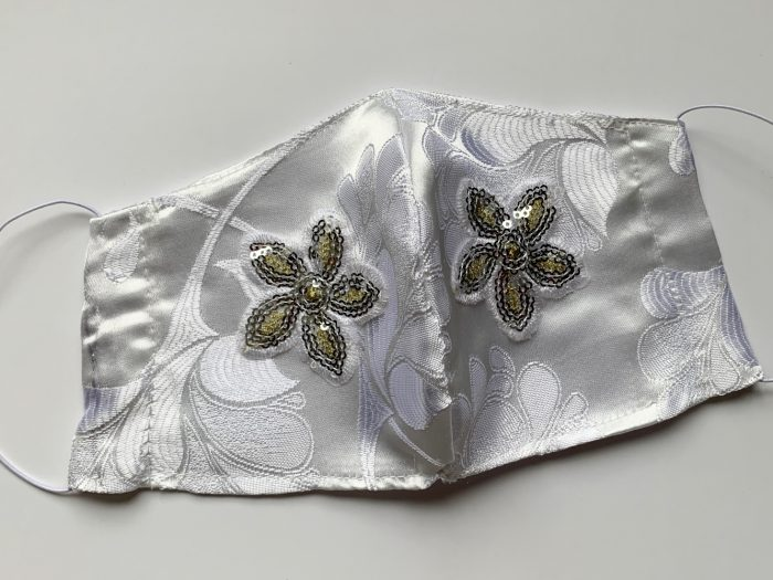 Bridal face mask for your wedding day - VWUK Designs