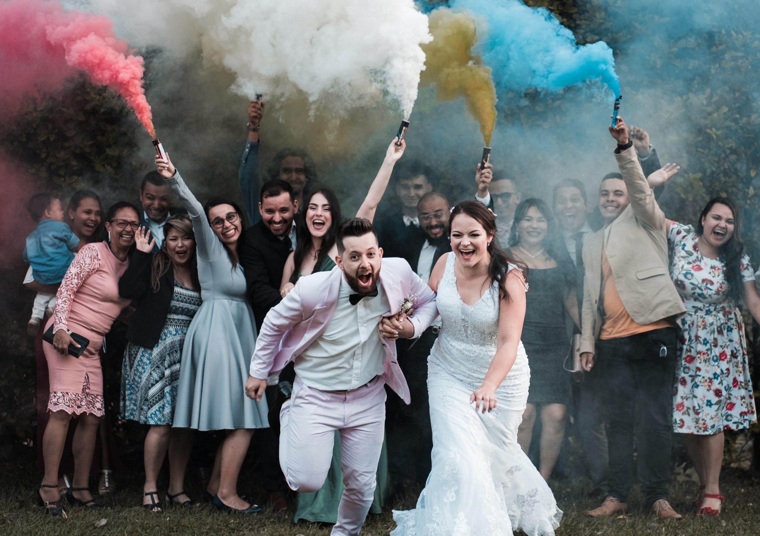 Bold wedding colour trends